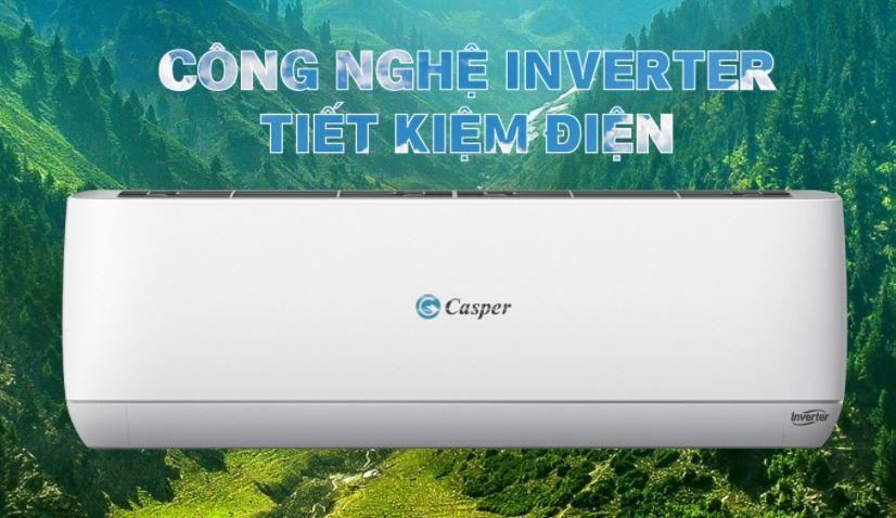 Sử dụng dòng điều hòa Casper Inverter để tiết kiệm điện tối ưu