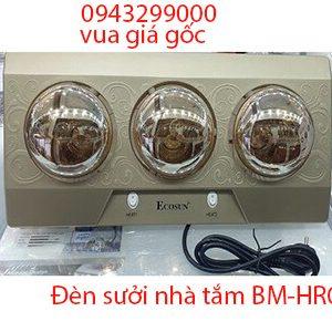 Đèn sưởi nhà tắm Ecosun 3 bóng BM-HR03 giá rẻ