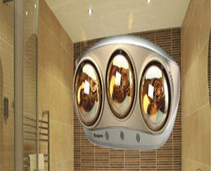 Đèn sưởi nhà tắm có tốn điện không